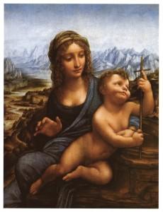 Madonna dei fusi Leonardo