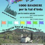 1000 BANDIERE PER LA VAL D'ARDA: LA MARCIA CONTRO IL CARBONEXT