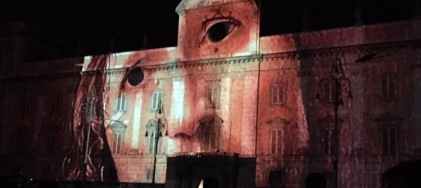 IL VIDEO MAPPING DI ECCE FABULA INCANTA I PIACENTINI