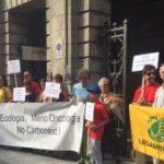 CAROBONEXT: SIT IN DI PROTESTA DAVANTI ALLA REGIONE