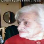 """AVEVAMO PAURA"", NONNA BRUNA RACCONTA LA SUA GUERRA AL NIPOTE"