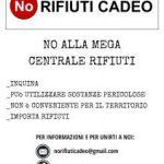 COMITATO NO RIFIUTI CADEO, DOMENICA MANIFESTAZIONE