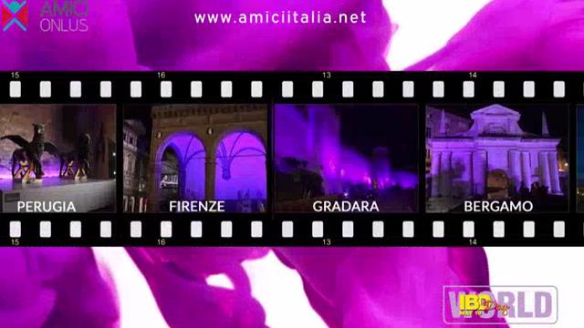 AMICI ONLUS, UNA MAREA VIOLA INONDA L'ITALIA