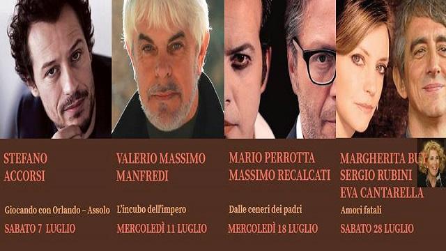 ACCORSI E BUY AL FESTIVAL TEATRO ANTICO DI VELEIA